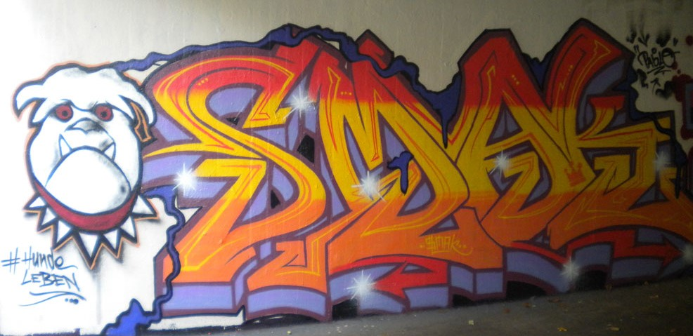 Graffiti Dossenheim by Pablo